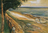 Edvard Munch Beach