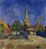 Edvard Munch Chrurch in Travemünde