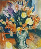 Edvard Munch Flowers in a Vase