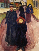 Edvard Munch Four Stages of Life