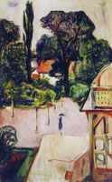Edvard Munch Garden in Taarbaek
