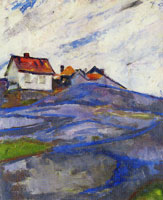 Edvard Munch The House in the Skerries