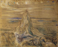 Edvard Munch The Human Mountain