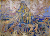 Edvard Munch The Human Mountain. Towards the Light