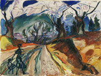 Edvard Munch The Magic Forest