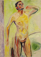 Edvard Munch Male Nude