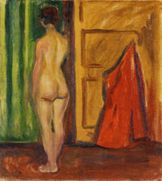 Edvard Munch Nude with Her Back Turned
