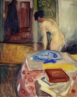 Edvard Munch Nude in Interior
