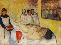 Edvard Munch On the Operating Table