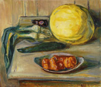 Edvard Munch Still Life with Pumpkin and Other Vegetables