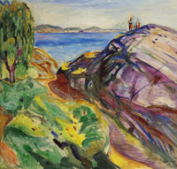 Edvard Munch Summer in Kragerø