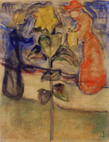 Edvard Munch Sun Flower (the Reinhardt Frieze)