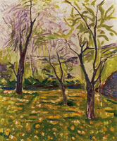 Edvard Munch Trees and Buttercups