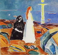 Edvard Munch Two Women on the Shore