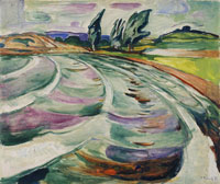 Edvard Munch The Wave