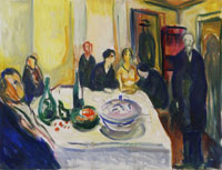 Edvard Munch The Wedding of the Bohemian
