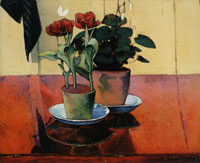 Émile Bernard Still Life with Flowers