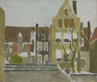George Hendrik Breitner Group of Houses