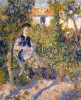 Pierre-Auguste Renoir Nini in the Garden