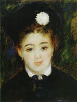 Pierre-Auguste Renoir Young Woman in Black