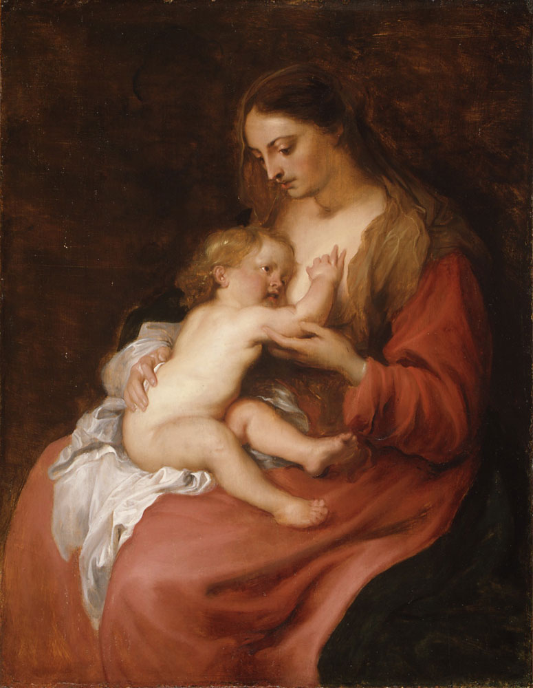 Anthony van Dyck - Virgin and Child