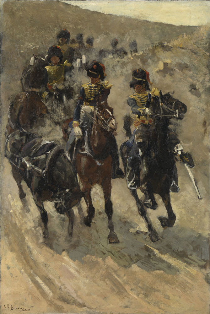 George Hendrik Breitner - The Yellow Riders