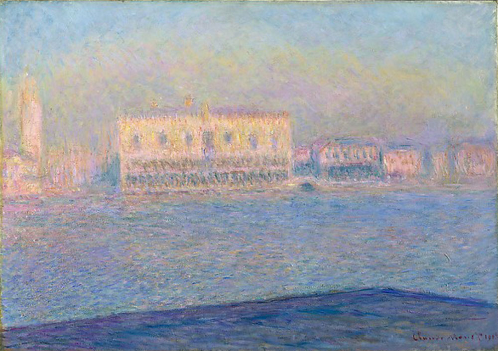 Claude Monet - The Doge's Palace Seen from San Giorgio Maggiore