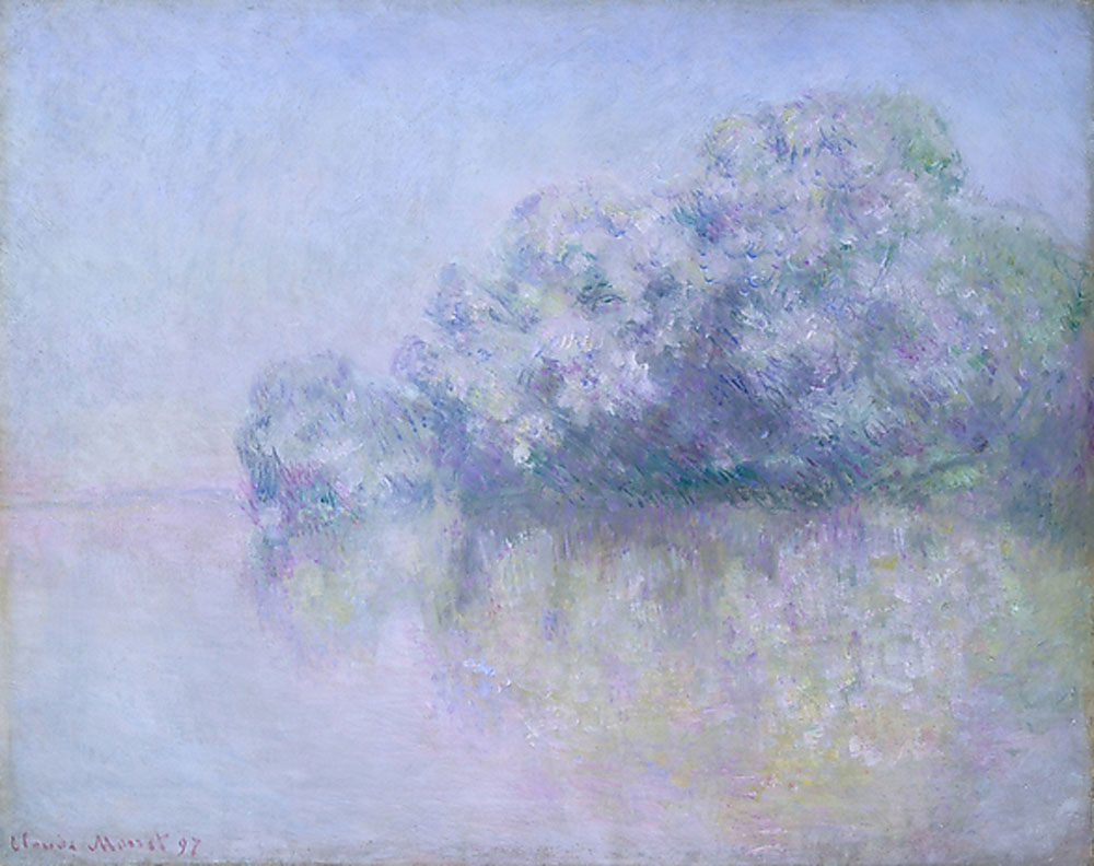 Claude Monet - Île aux Orties near Vernon
