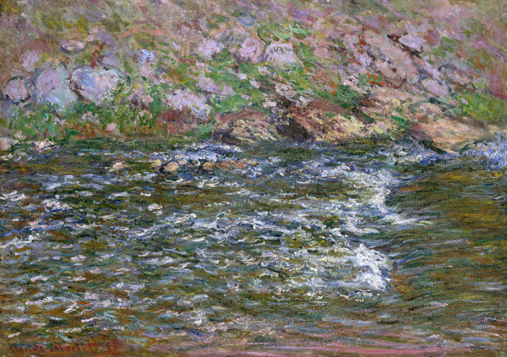 Claude Monet - Rapids on the Petite Creuse at Fresselines