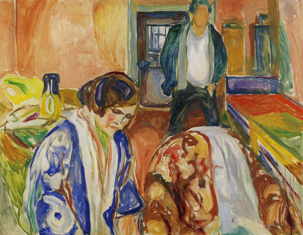 Edvard Munch - The Artist and His Model