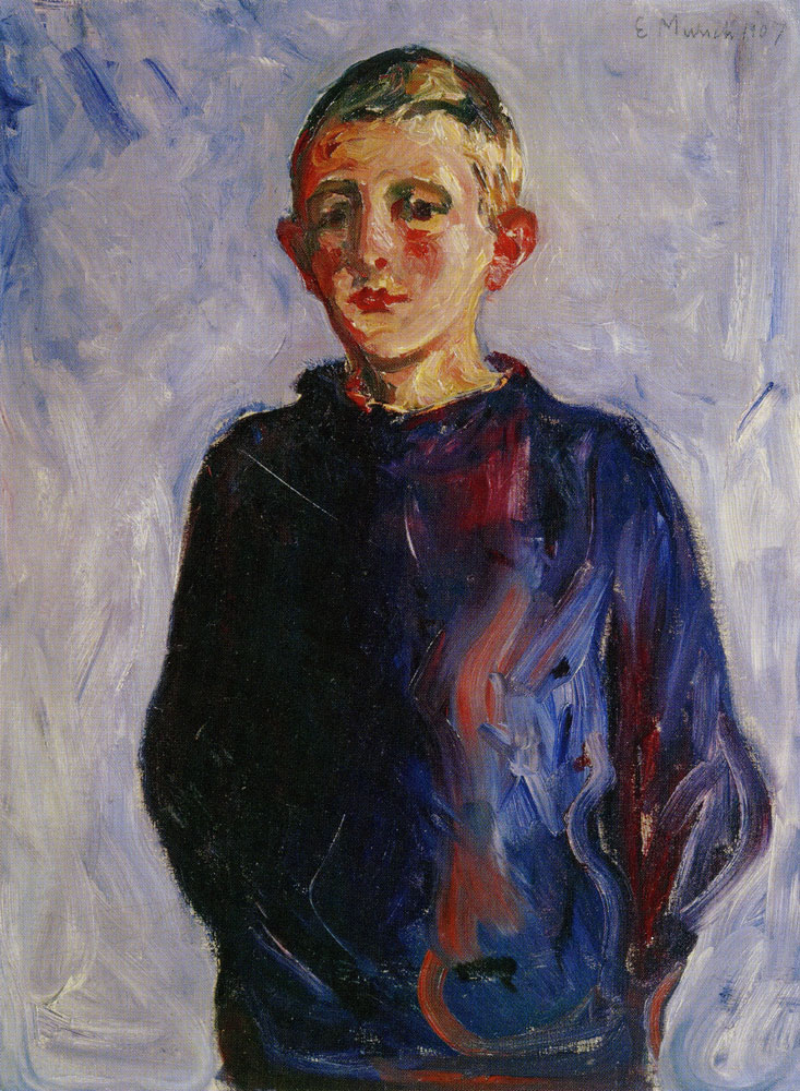 Edvard Munch - Boy from Warnemünde