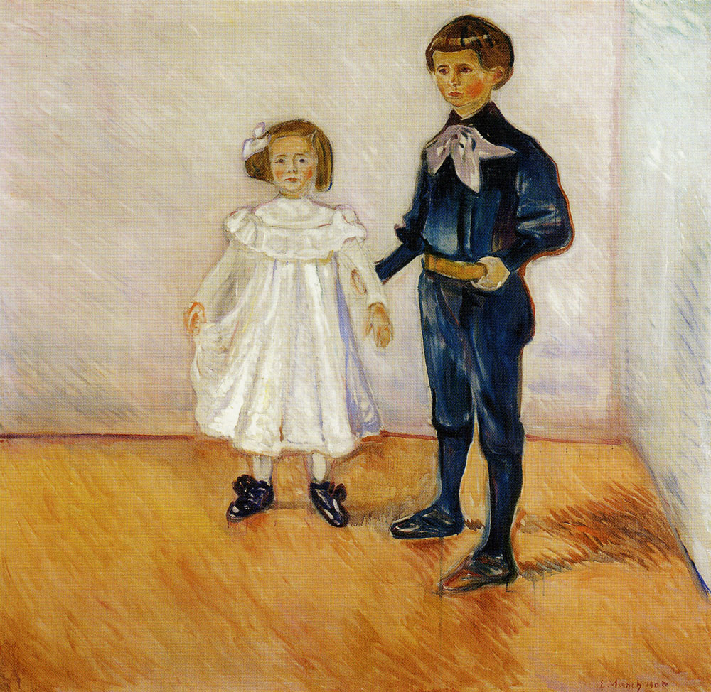 Edvard Munch - Esche's Children