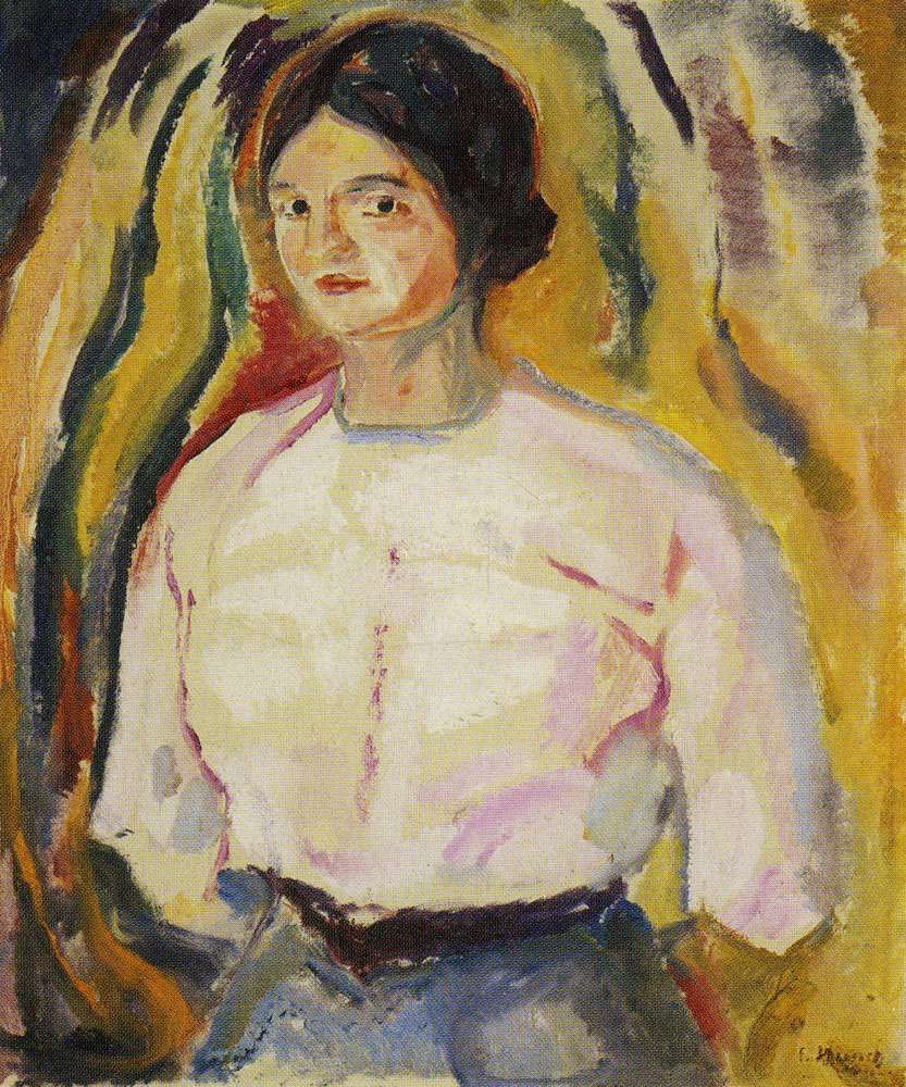 Edvard Munch - Ingeborg with Her Arms Behind Her Back