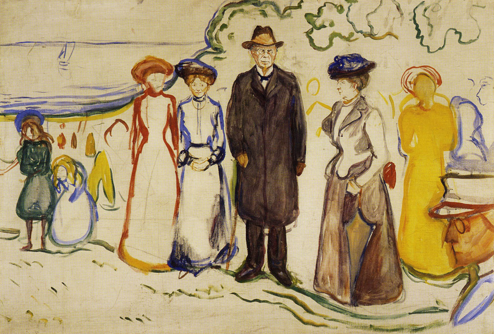 Edvard Munch - Jonas Lie With His Family