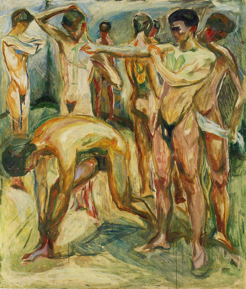 Edvard Munch - Naked Men in the Baths