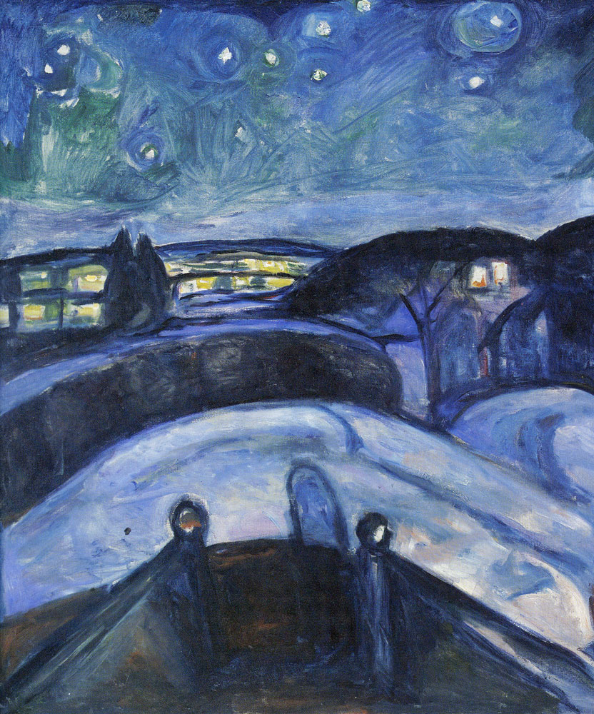 Edvard Munch - Starry Night