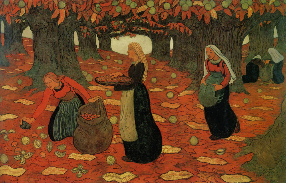Georges Lacombe - Autumn: The Chestnut Gatherers