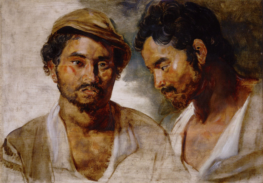 Peter Paul Rubens - Two Studies of a Man