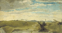 George Hendrik Breitner - View in the Dunes near Dekkersduin, The Hague
