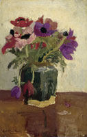 George Hendrik Breitner - Ginger Pot with Anemones