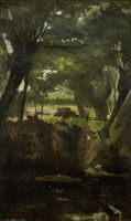 George Hendrik Breitner View in the Woods