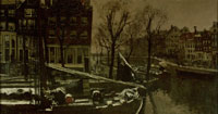 George Hendrik Breitner Winter in Amsterdam