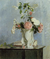 Camille Pissarro Bouquet of Flowers