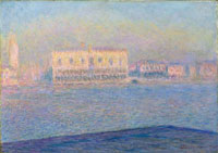 Claude Monet The Doge's Palace Seen from San Giorgio Maggiore