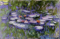 Claude Monet Water Lilies (Nymphéas)