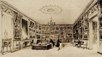 Charles-François Daubigny - The main showroom of the Durand-Ruel Gallery