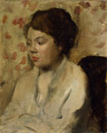 Edgar Degas - Portrait of a Young Woman