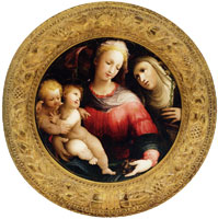 Domenico Beccafumi Madonna and Child with the Infant Saint John the Baptist and Saint Catherine of Siena