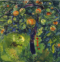 Edvard Munch Apple Tree