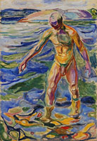 Edvard Munch Bathing Man